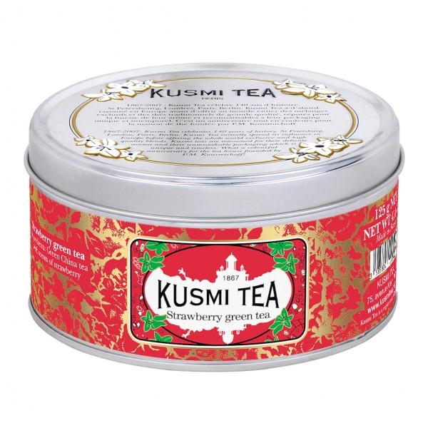 Kusmi Strawberry Grüner Tee - 125g in Metalldose