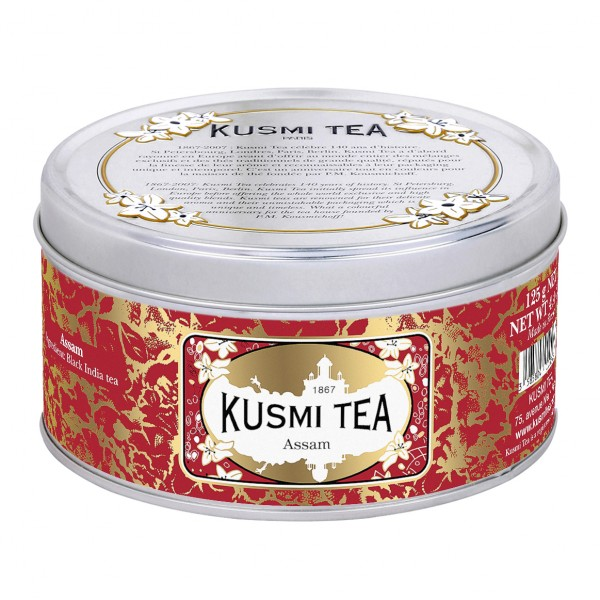 Kusmi Assam - 125g in Metalldose