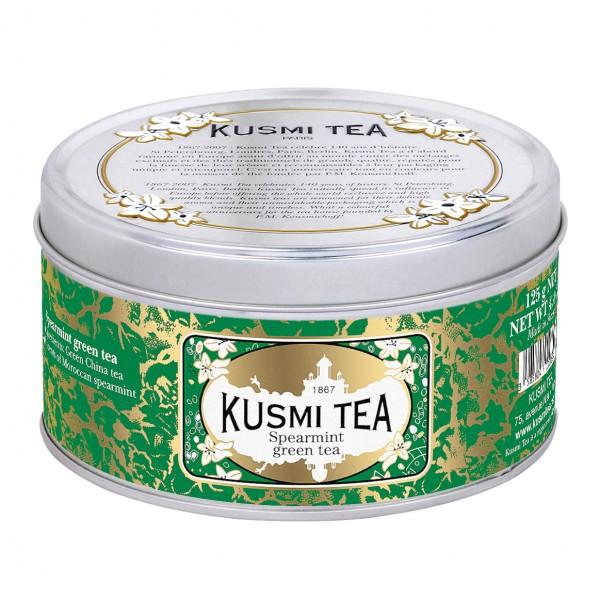 Kusmi Grüner Tee mit Nanah-Minze - 125g in Metalldose