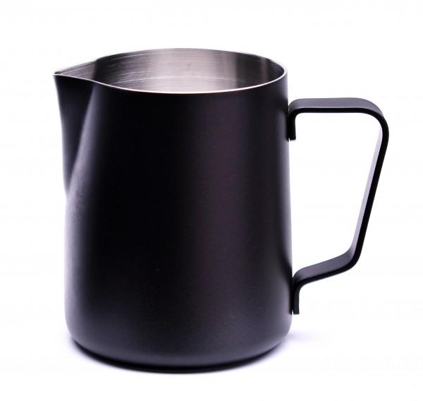 Milchkännchen Schwarz pulverbeschichtet 350ml