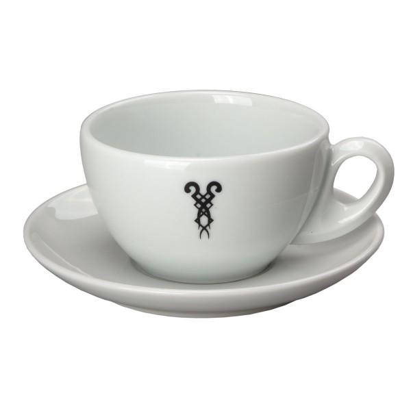 Milchkaffeetasse Bazzar Logo 30cl